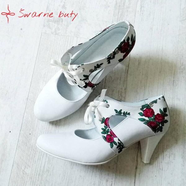 Ślubne buty góralskie